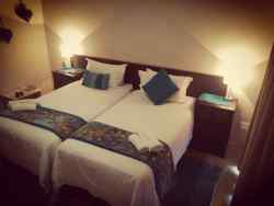 Room 4  - This is a double room with 2 single beds.