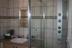 Unit 4 Bathroom with state of the art shower