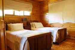 Log Cabin Twin Room