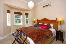 Second Bedroom with King sized bed and air-con