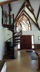Loft staircase and entrance