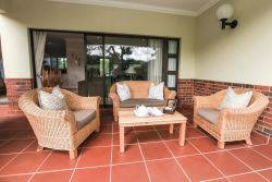 Undercover veranda with outdoor lounge furniture