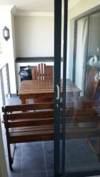 Balcony with BBQ facilities