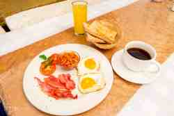 Complimentary English Breakfast