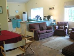 Our open plan living area