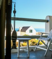 Manor Executive Suite boasts a private patio with sea view