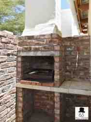 Braai facilities for one bedroom flats
