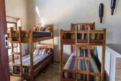 Bunk beds in Villa 1, 3 and 4
