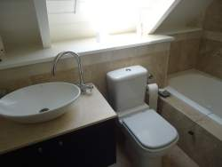 2nd upstairs bathroom (separate)