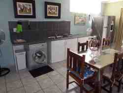 laundry facilities available in apartment. Washing machine and tumble dryer.