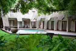 Pongola Country Lodge a serene setting in the center of town.