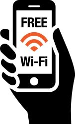 Free Wi-Fi in all rooms!