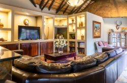 Enjoy watching sports and other entertainment in the TV room