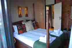 2 Bedroom Self Catering - Main Bedroom, en-suite with shower