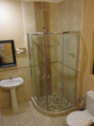 Twin Bed Shower