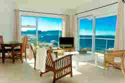Studio Four Sea View through Lounge 2