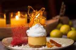 Lemon Meringue: end the perfect day and meal with a little sweetness.