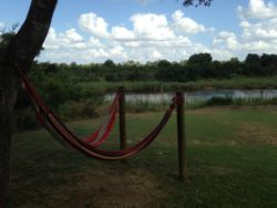 Recharge your Soul in our hammocks overlooking the Sabie River and Kruger National Park