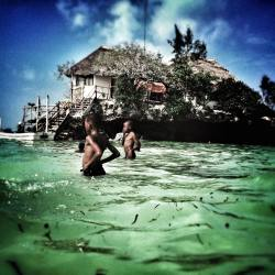 Make a reservation at THE ROCK, only 10min away. The most photographed site in Zanzibar