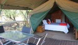 Tented Chalets - TENTED CHALETS - Springbok (Unit 1), Impala (Unit 2), Waterbuck (Unit 4) and Sable (Unit 5)