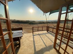 Luxury Tented Chalet - Blesbok Patio