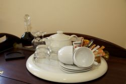 Tea and Coffee facilities in the rooms