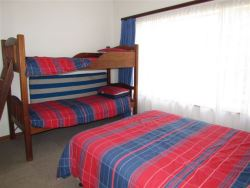 Room 3 - queen bed and bunk bed