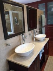 Master en-suite with double shower