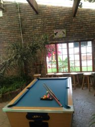 Pool table available to all guests