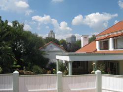 We are very close to the Sandton CBD, although in a very quiet suburb.