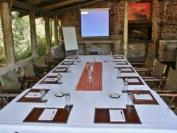 Conferencing for up to 12 people.