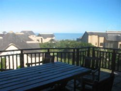 Deck with braai facilities and view
