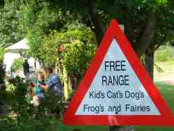 Free range kids, kats,dogs,frogs and fairies