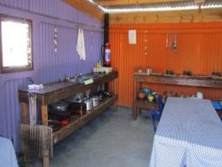 Communal Kitchen in the camp area fully equipped