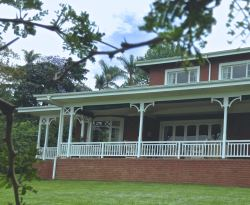 Colonial wrap-around veranda