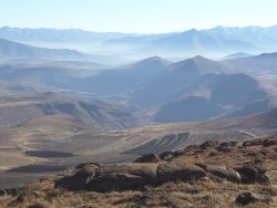 The Lesotho Highlands = The Kingdom in the sky