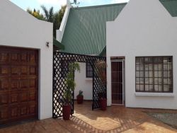The entrance to the guesthouse