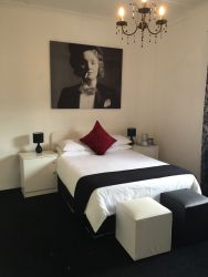 Marlene Dietrich Room - Standard Double size bed.