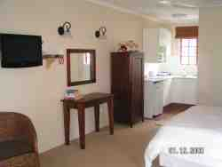 Camellia Cottage room 3; vview of kitchen