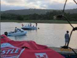 Kariega river enjoyed by many for watersports, sundowners and river-side bar / restaurant