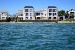 The Lofts Exterior from the Knysna Lagoon