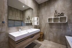 TWO BEDROOM FAMILY APARTMENTS' BATHROOMS