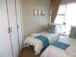 4 Gonubie Sands small second bedroom with 2 single beds