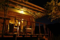 Veranda in the evening