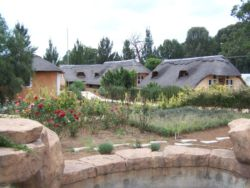 Garden and Chalets