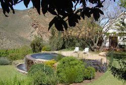 Pool at Tierhoek House