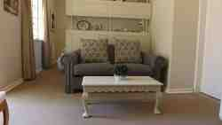 Clover Cottage living room sofa