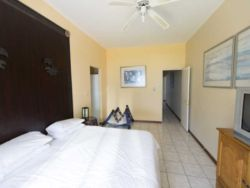 Main Bedroom also feature air conditiioning, ceiling fan and TV with linked DSTV to the main TV