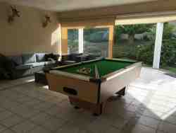 Patio with Pool Table