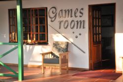 Family Fun in the Games Room of Tzaneen Country Lodge